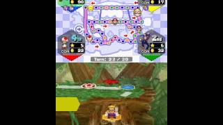 Mario party DS [TAS] Dk stone statue 30 turns, 51 stars. [PART 5]