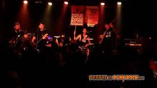OUR DARKEST DAYS - Ceaseless @ Punk Rock Meeting 2, Québec City QC - 2018-11-17