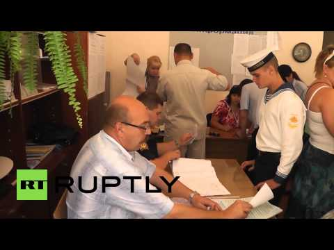 Russia: Crimea votes in FIRST election since rejoining Russia