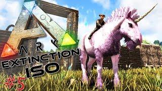 ARK ISO Extinction : Ma Licorne rose qui fait caca des arc-en-ciel ! #5