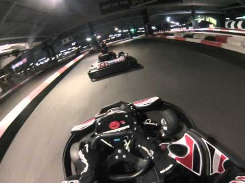 Docklands Indoor Karting - 50 Laps Endurance race Part 1 - March 2014