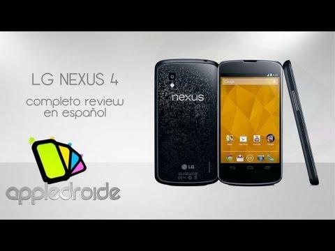 LG Nexus 4. completo review en español