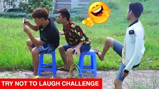 TRY NOT TO LAUGH - Funny Comedy Videos and Best Fails 2019 by SML Troll Ep.59