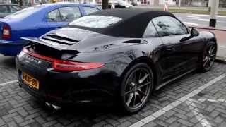 Porsche  991 Carrera 4S cabriolet amazing sounds