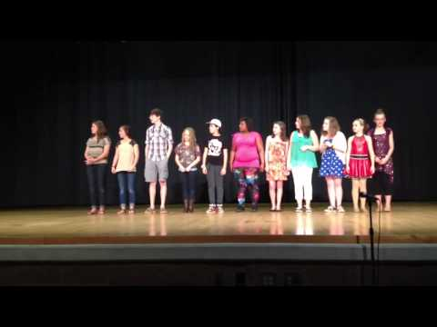 2013 Woodstock middle school talent show: award placement