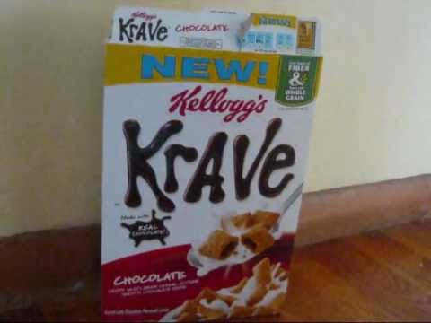 Krave Cereal Review