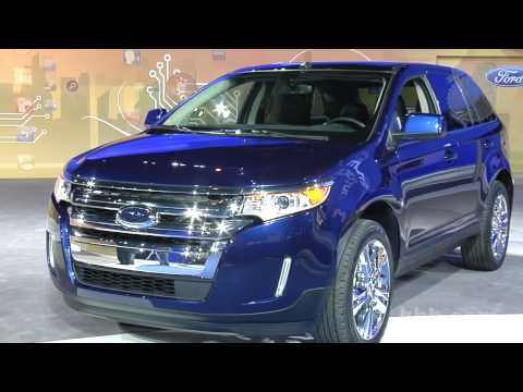 2011 Ford Edge Auto Show Video  Kelley Blue Book