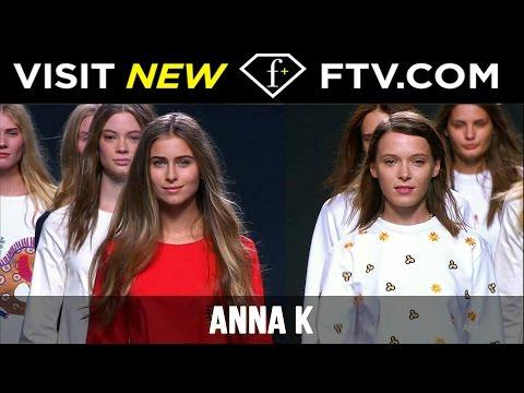 MFW Anna K Spring/Summer 2017 Full Show | FashionTV