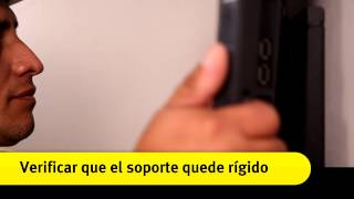 """Colocación de soporte fijo para una TV de 32"""""""