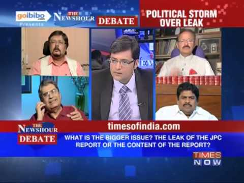 The Newshour Debate: JPC Report - Leak or the report, which is an issue? (The Full Debate)