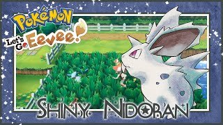 LIVE!! Shiny Male Nidoran On Pokemon Let's Go Eevee after 106 Combo Chains!