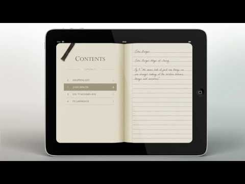 The Moleskine App