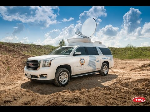 DSNG on GMC SUV for Kuwait TV