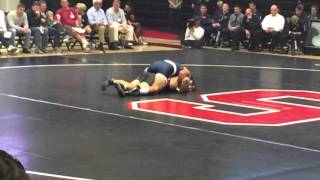 Stanford vs Penn State Wrestling (Morgan McIntosh vs Boomer Fleming)