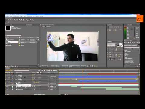 Tutorial After Effects: Interfaz virtual Iron Man