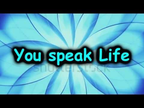 speak Life Tobymac W  Lyrics video
