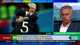 Mondial 2018 : José Mourinho analyse la finale France-Croatie pour RT France