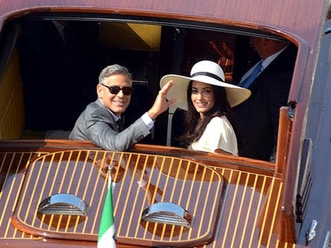 Clooney and Alamuddin Tie the Knot
