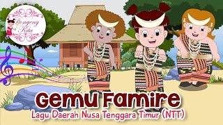 Download Lagu GEMU FAMIRE (Maumere) | Lagu Daerah Nusa Tenggara Timur (NTT) | Budaya Indonesia | Dongeng Kita Gratis STAFABAND