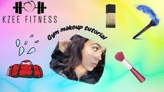 Gym makeup tutorial- GRWM 2018