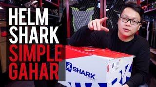 RC UNBOXING : Helm SHARK yang simple namun gahar