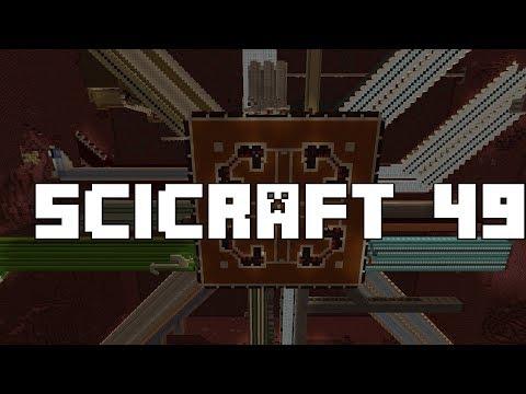 SciCraft 49: Lava To Obsidian Converter / Floor Builder
