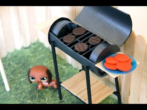 How to Make a Doll BBQ Grill