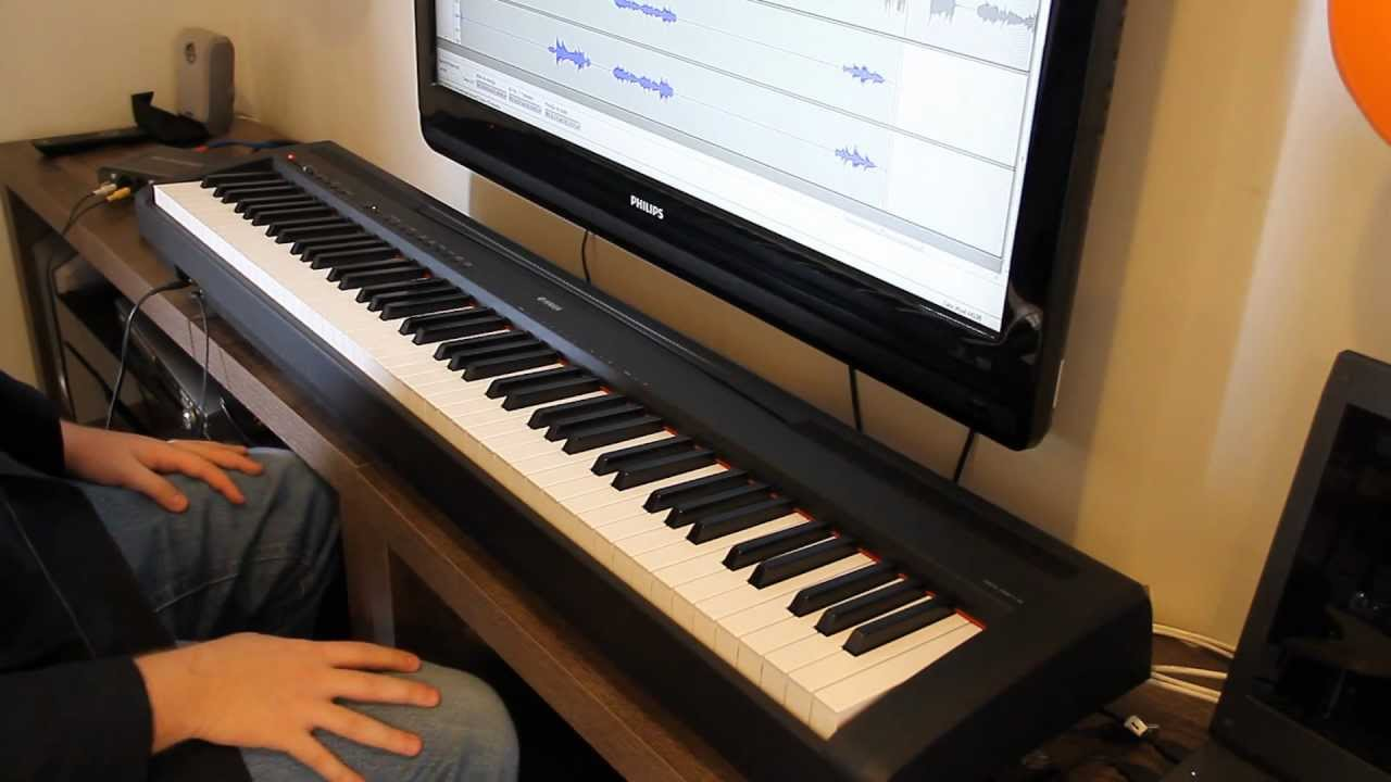 Review Yamaha P-95 - Piano Digital - YouTube