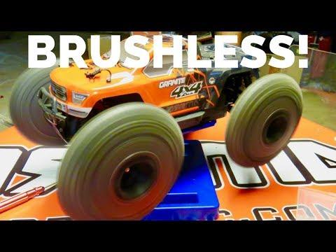 Brushless Conversion Arrma Granite 4x4 - Step By Step - Driftomaniacs