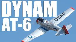 Dynam 2.4Ghz 5 Channel AT-6 Texan Preview