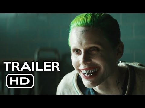 Suicide Squad Joker Trailer (2016) Jared Leto, Margot Robbie Action Movie HD