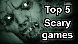 Top 5 - Scary games from 2013