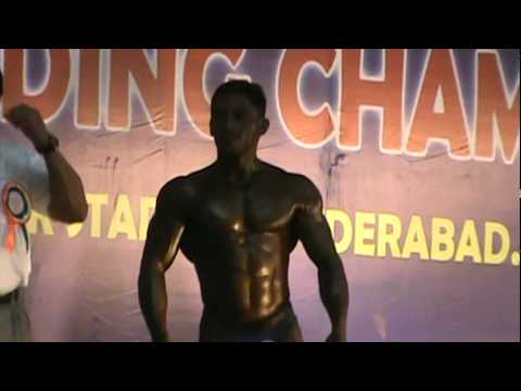 Mr India Bodybuilding Compeion 2012