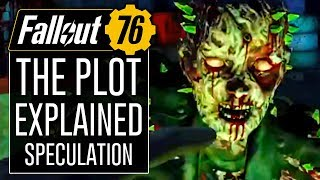 FALLOUT 76 - Main Plot, No Humans, Scorched, and BOS Explained! (Speculation)