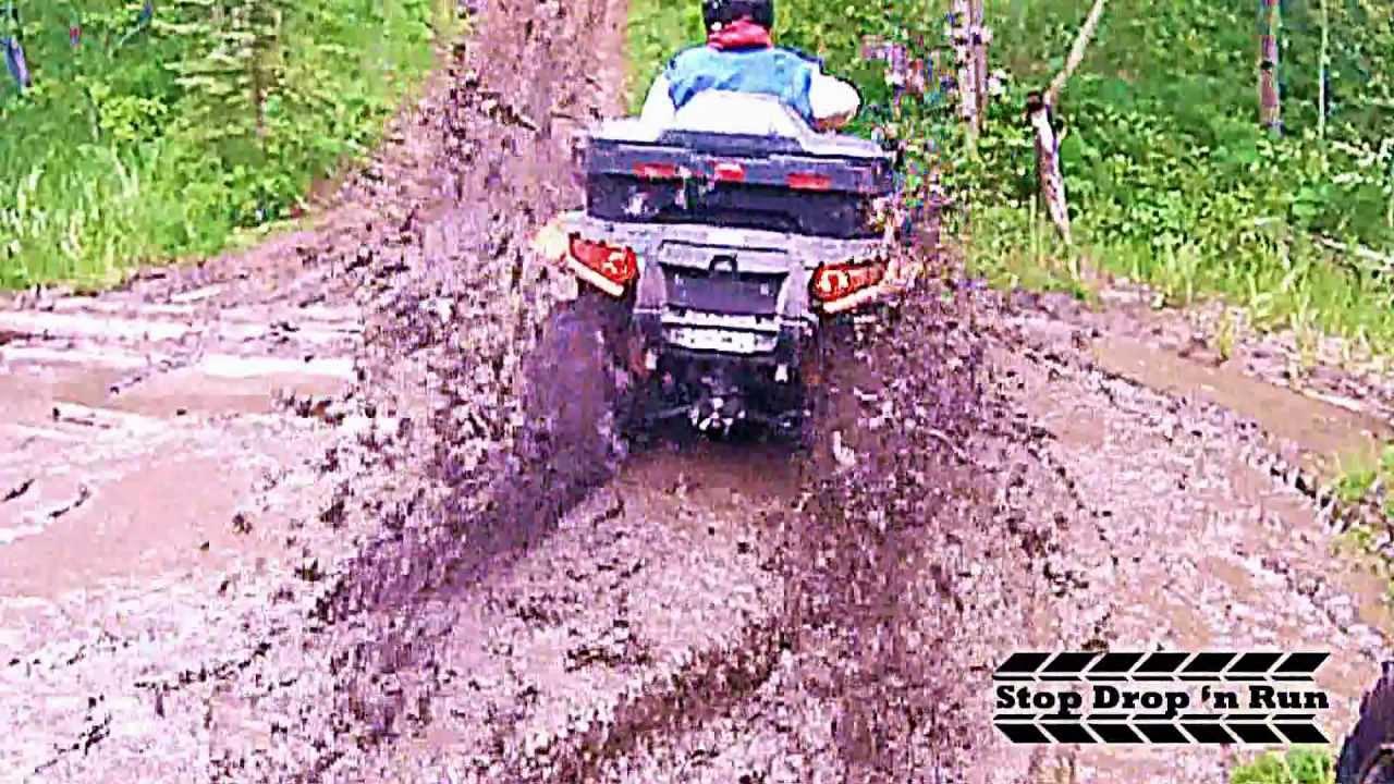 Atv 4x4 Mud Bogging Quading Youtube