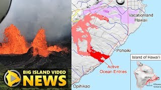 Hawaii Volcano Eruption Update - Monday Afternoon (May 21, 2018)