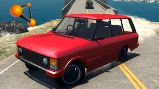 BeamNG.Drive Mod : Range Rover classic (Crash test)