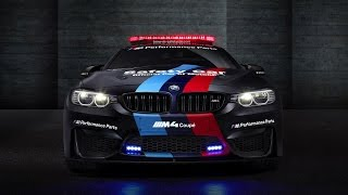 BMW M4 MotoGP Safety Car with water injection