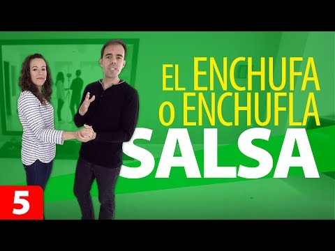 ENCHUFA o ENCHUFLA | Paso de Salsa Estilo Cubano | Aprender a Bailar Salsa | Cómo Bailar Salsa