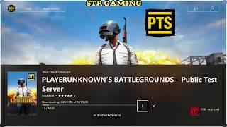 PLAYERUNKOWN'S BATTLEGROUNDS - Public Test Server