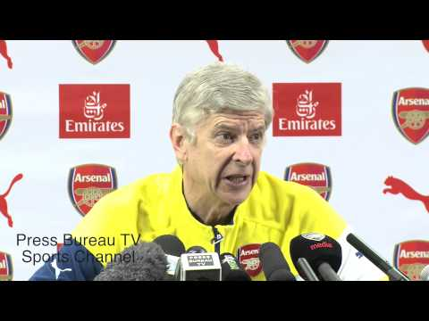 Arsene Wenger reaction Manchester City vs Arsenal