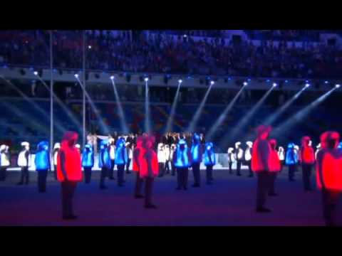 Russian National Anthem - Sochi 2014 Opening Ceremony