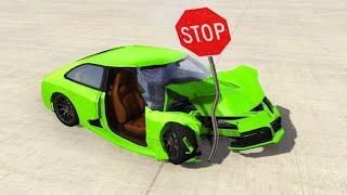 CRASHING My Car In A SIMULATOR! (BeamNG)