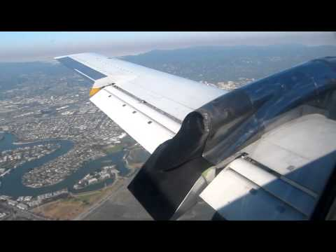 EMB-120 Landing in SFO - United Express 07/11/12