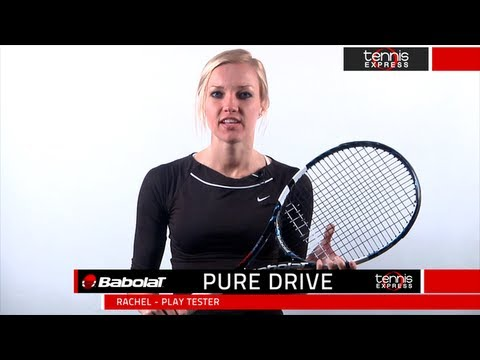 Babolat pure drive racquet review by tennis express