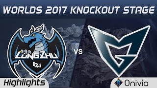 LZ vs SSG  Highlights Game 3  World Championship 2017 Knockout Stage Longzhu Gaming vs Samsung Gal