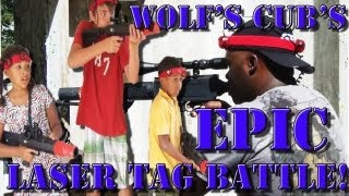 WOLF Takes the Cubs for LASERTAG!!!
