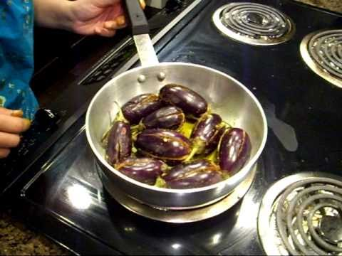 stuffed eggplant, stuffed brinjal, bharve baingan, easy eggplant recipe Music Videos