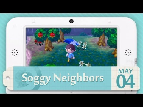 Video Journal - Animal Crossing: New Leaf | Soggy Neighbors