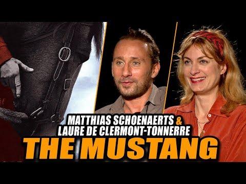 THE MUSTANG Interview: Matthias Schoenaerts & Laure De Clermont-Tonnerre